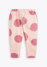 Next - SET BUNNY - Teplákové kalhoty - pink - 4