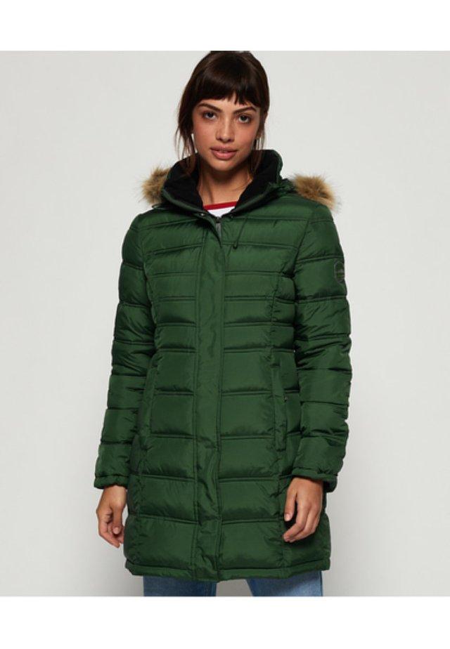 MOUNTAIN SUPER FUJI - Zimní kabát - ice green
