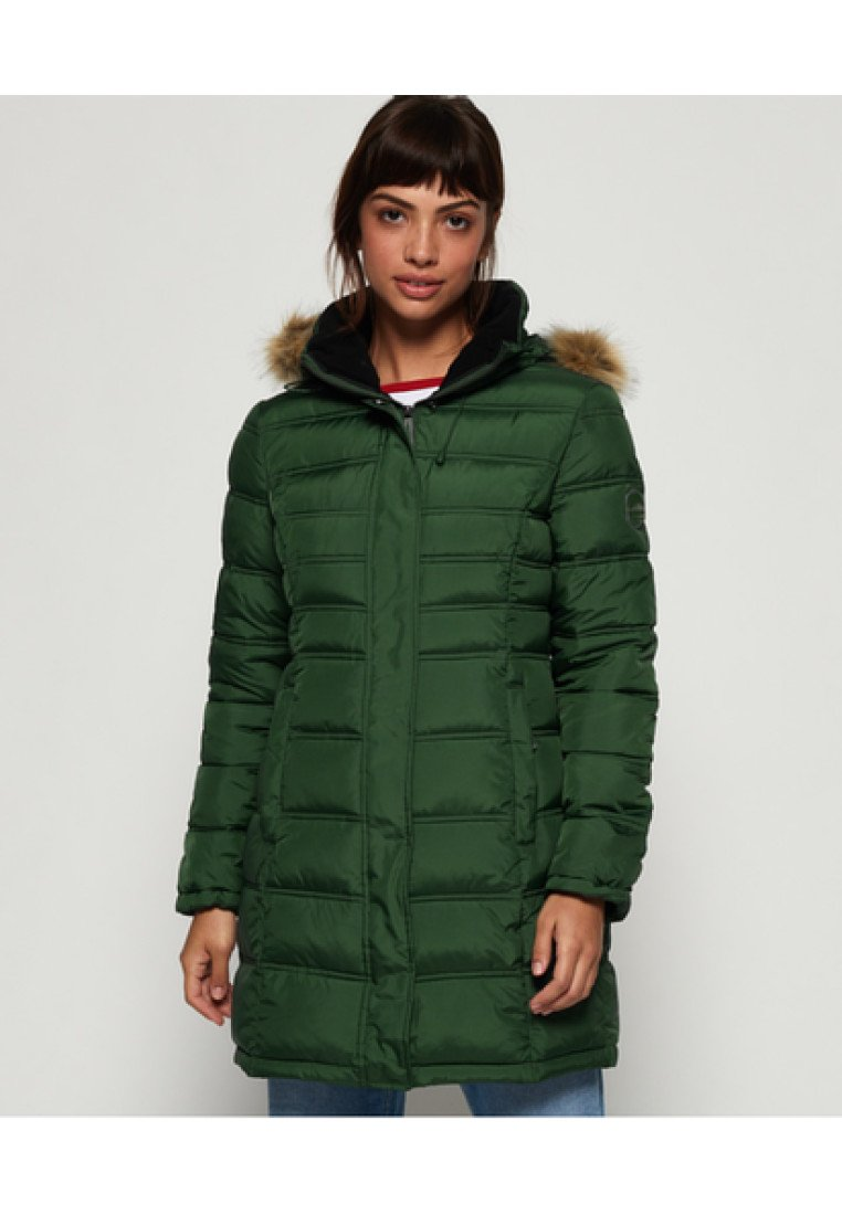 Superdry - MOUNTAIN SUPER FUJI - Winter coat - ice green