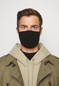 Urban Classics - 2 PACK - Maska z tkaniny - black - 3