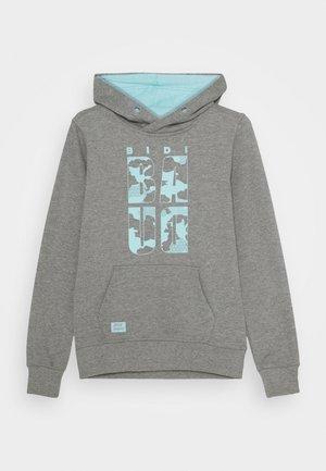 LAMIN LIFESTYLE HOODY UNISEX - Bluza z kapturem - grey/aqua