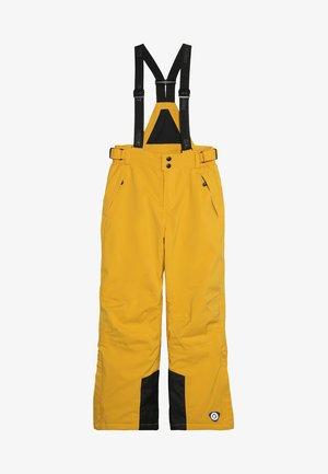 GAUROR UNISEX - Snow pants - gebranntes gelb