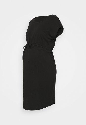 OLMMAY LIFE DRESS - Jerseykjole - black