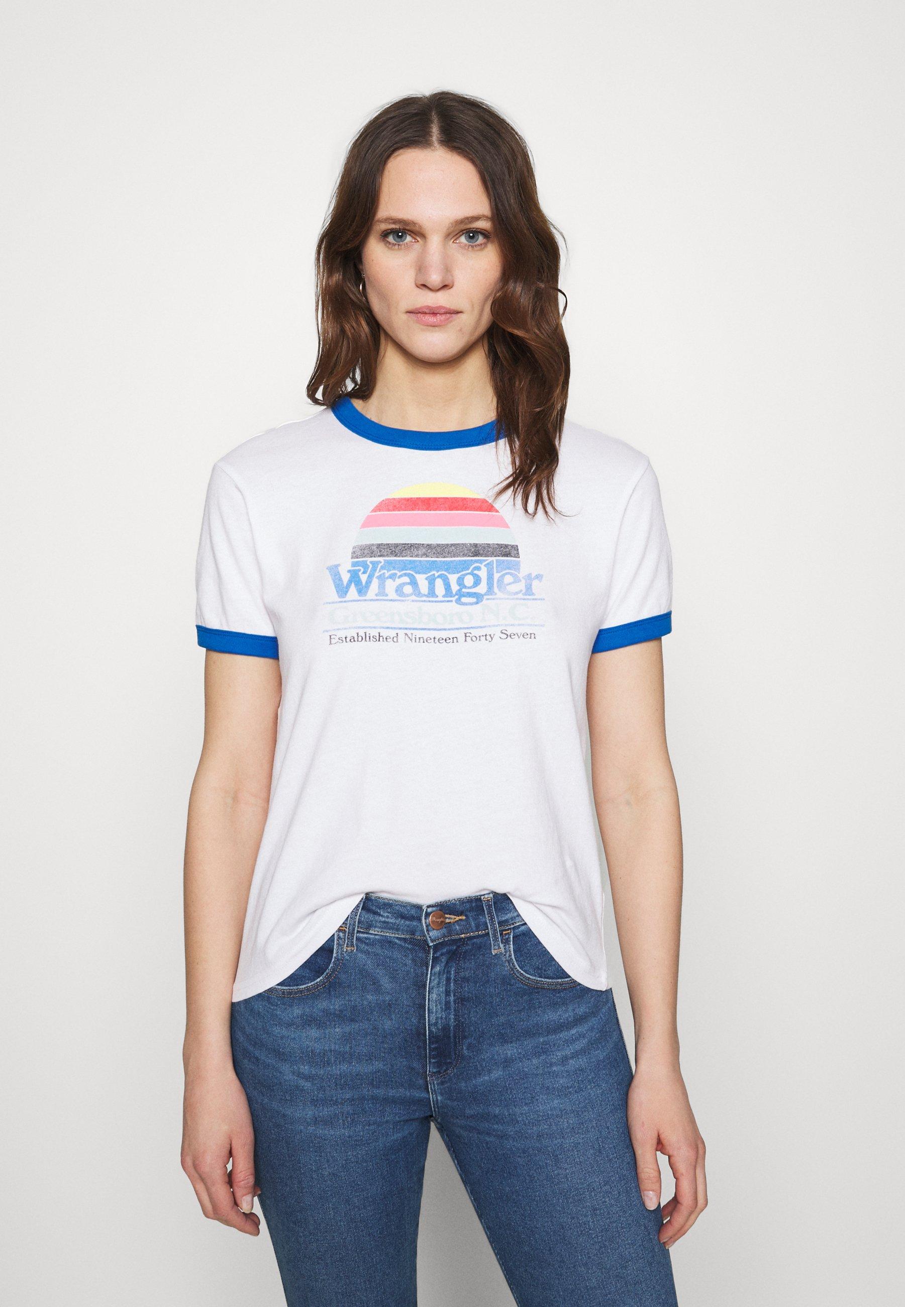 Damen RELAXED RINGER - T-Shirt print
