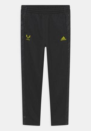 MESSI  - Pantaloni sportivi - black/semi solar yellow