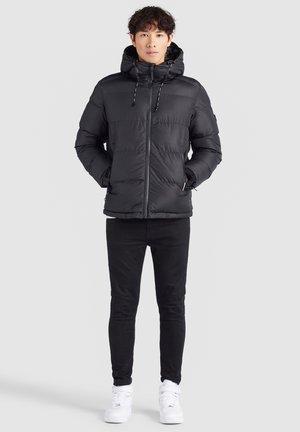 STEAMER - Winter jacket - schwarz