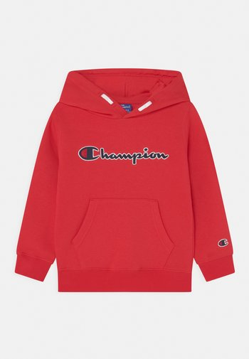 LOGO HOODED UNISEX - Sweater - red