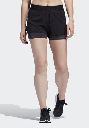 ALPHASKIN TWO-IN-ONE SHORTS - kurze Sporthose - black