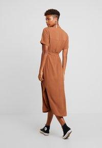Envii - ENSILJAN DRESS - Shirt dress - toffee - 3