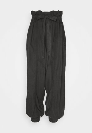 WADE AWAY HAREM - Trousers - black