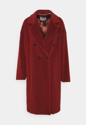 ZANORA - Classic coat - bruciato