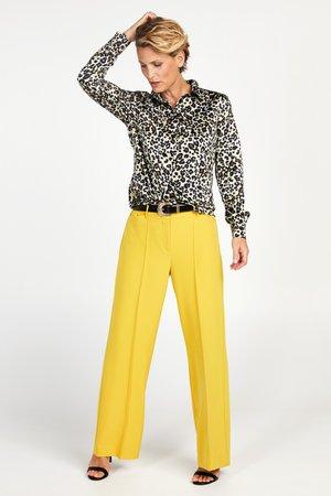 TRANOLI - Button-down blouse - sand