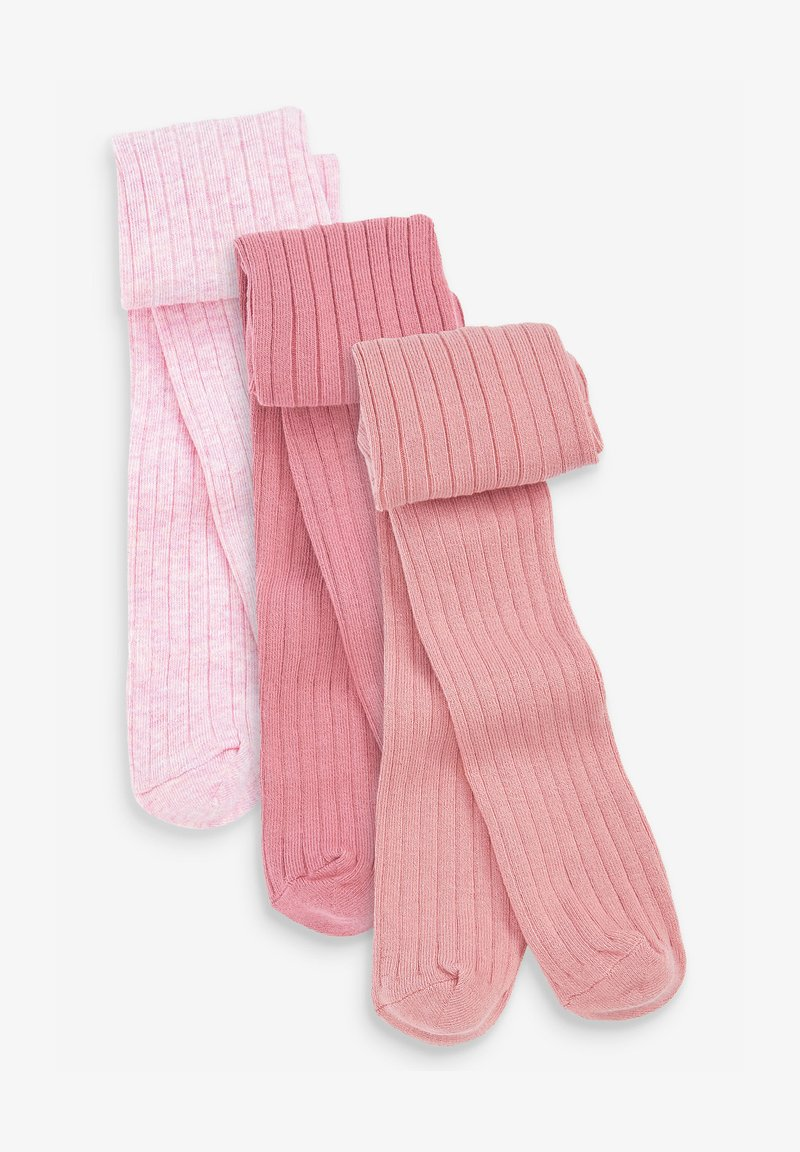 Next - 3 PACK - Tights - pink