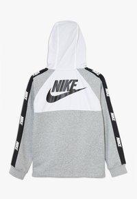 Nike Sportswear - HYBRID  - Hoodie - white/black/dark grey heather - 1