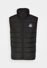 MORST HYBRID GILET - Waistcoat - black
