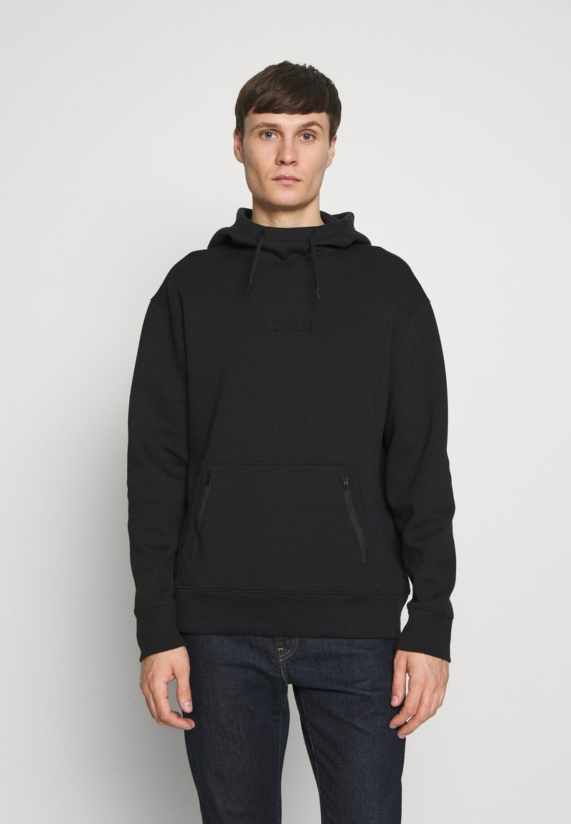 Hollister Co. - TONAL BOX  - Hoodie - black