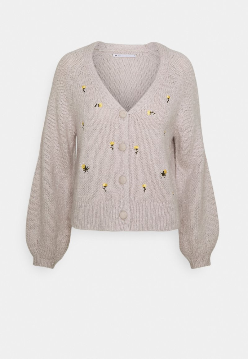 ONLY - ONLNEW ALISON LIFE - Cardigan - pumice stone