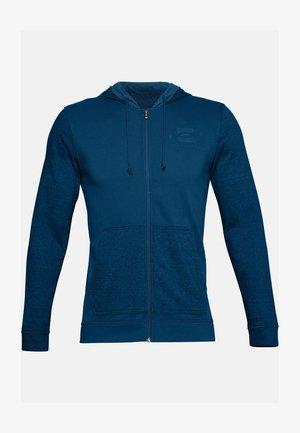 Zip-up hoodie - graphite blue