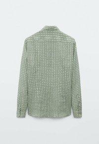 Massimo Dutti - SLIMFIT - Shirt - evergreen - 1