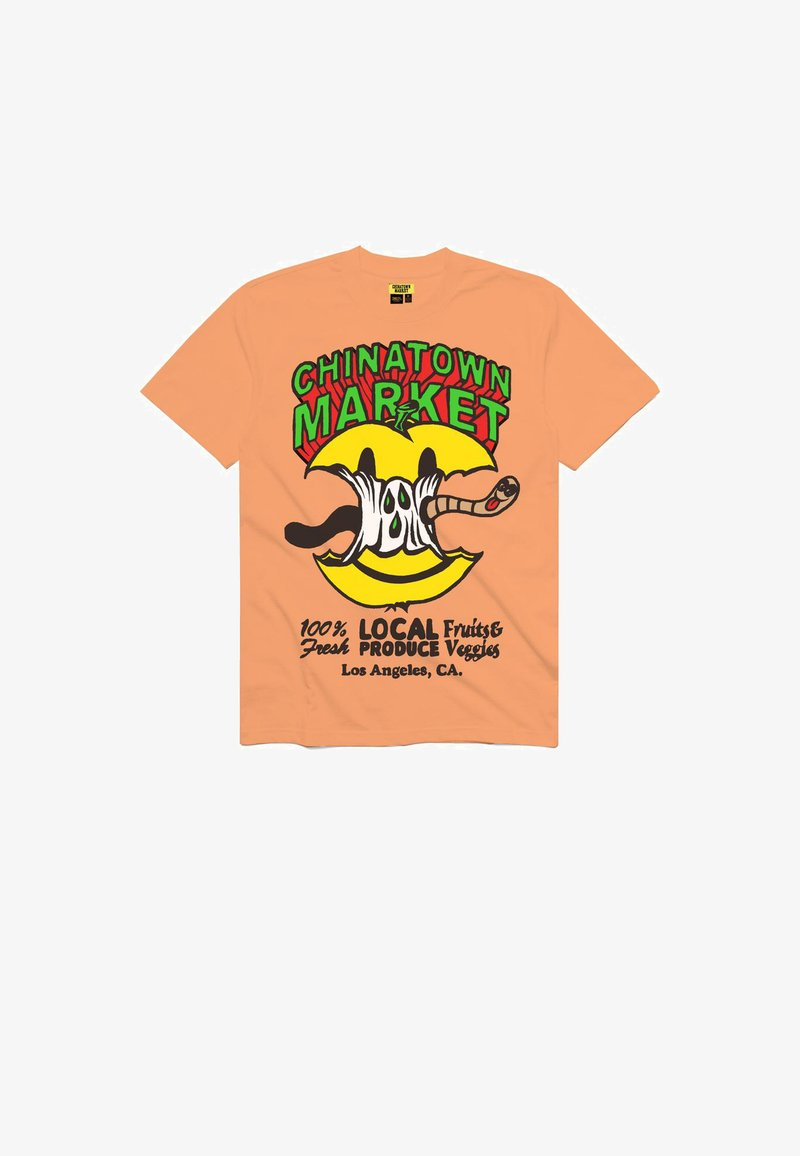 Chinatown Market - Print T-shirt - peach