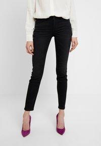 Lee - SCARLETT - Jeans Skinny Fit - black used york - 0