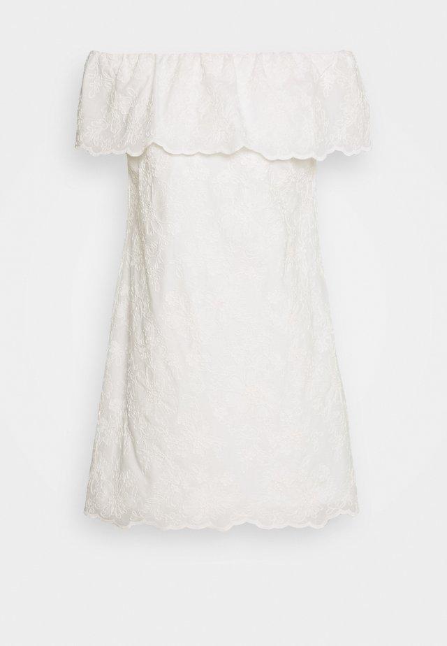 CASSIDY - Day dress - white