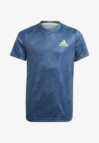 adidas Performance - Camiseta estampada - blue - 0