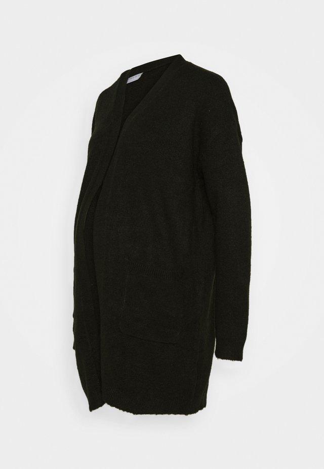 PCMBIANCA LONG CARDIGAN - Cardigan - duffel bag