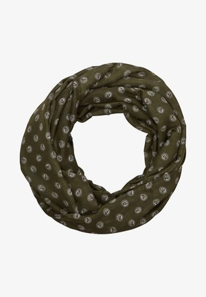 TUNNEL - Snood - khaki dots