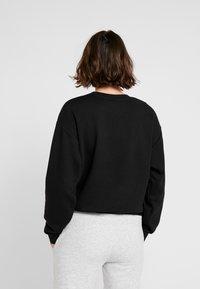 Puma - LOGO CREW  - Sweater - black - 2