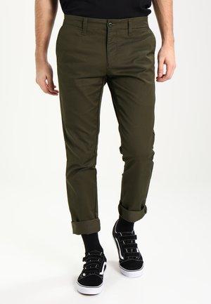 SID LAMAR - Pantalones chinos - cypress rinsed