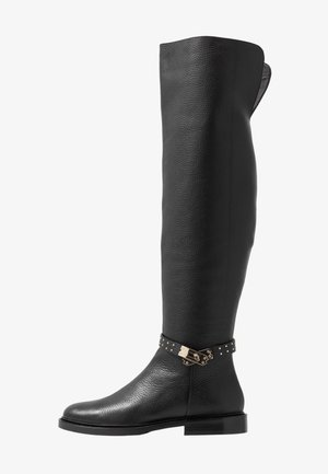 LOCK - Over-the-knee boots - black