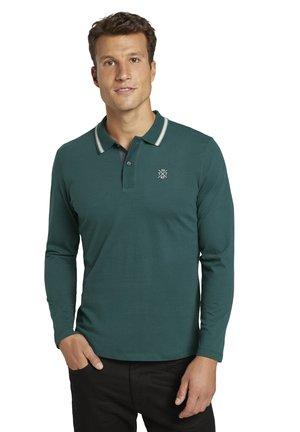 Polo shirt - stroke green