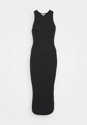 THE ESSENTIAL TANK DRESS - Maxi šaty - black