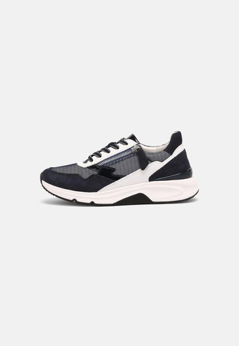 ROLLING SOFT - Sneakers laag - blue/weiss