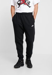 Nike Sportswear - CLUB - Tracksuit bottoms - black - 0
