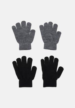 NKNMAGIC GLOVES 2 PACK UNISEX - Gloves - grey melange