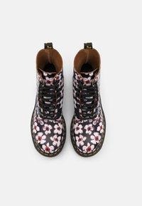 Dr. Martens - 1460 PASCAL - Lace-up ankle boots - black/red pansy fayre vintage smooth - 5