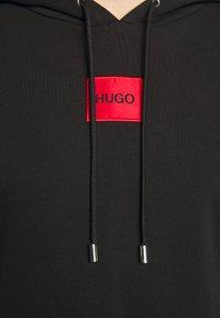 HUGO - DASANDRA  - Mikina skapucí - black - 4