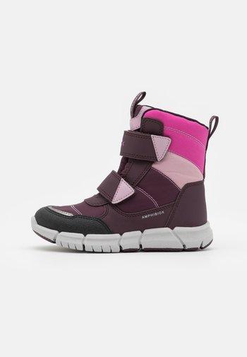 FLEXYPER GIRL - Winter boots - dark burgundy/dark rose