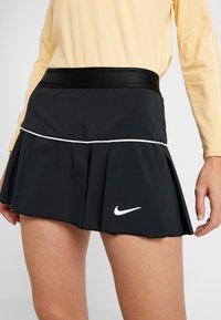 Nike Performance - VICTORY SKIRT - Sportovní sukně - black/white - 3