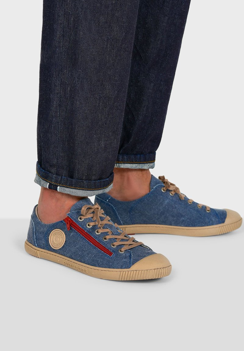 Pataugas - BUMP T H2E - Trainers - blue jeans