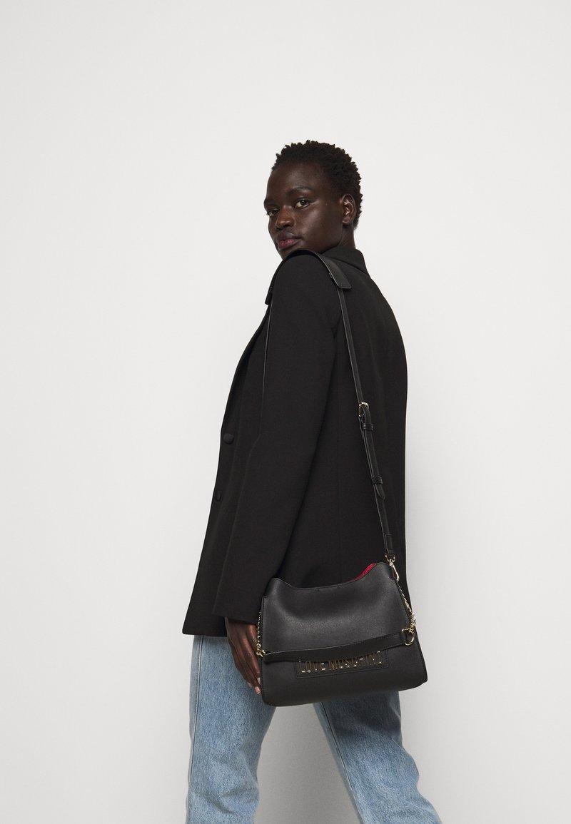 Love Moschino - BORSA SMOOTH - Handbag - black