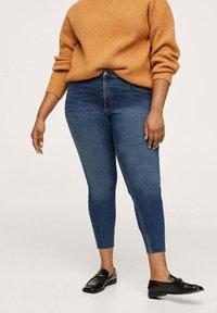 Mango - ISA - Jeans Skinny Fit - dunkelblau - 0