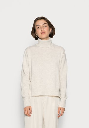 PINALF WOMAN - Stickad tröja - off white melange