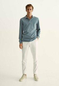Massimo Dutti - Polo shirt - dark grey - 1