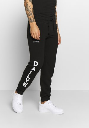 DAILY BASIS JOGGERS - Tracksuit bottoms - black