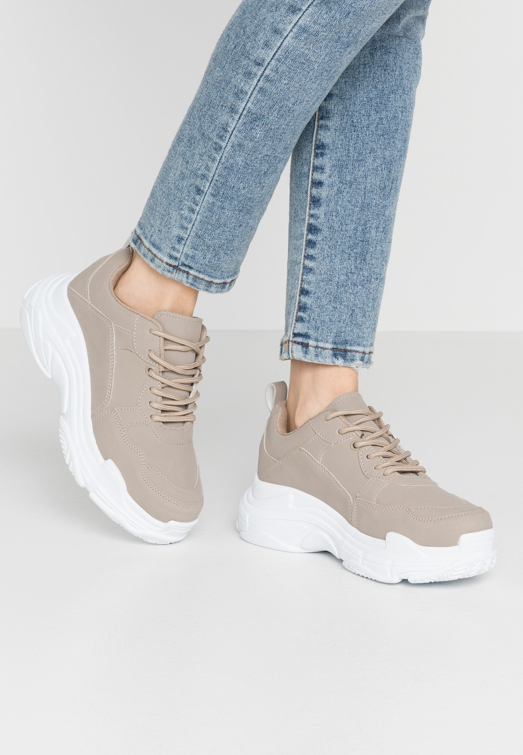 PERFECT CHUNKY Sneakers light beige