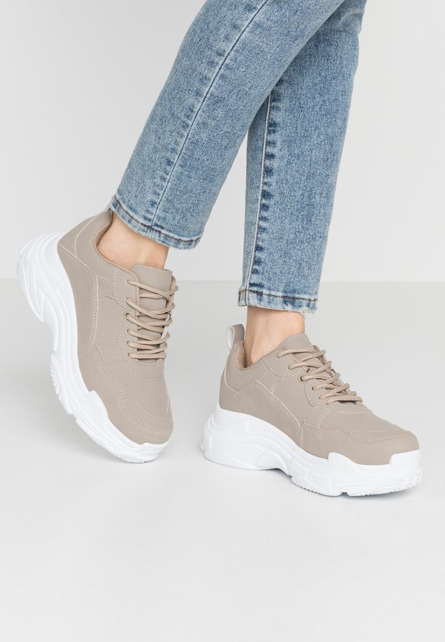 PERFECT CHUNKY  - Sneakers laag - light beige