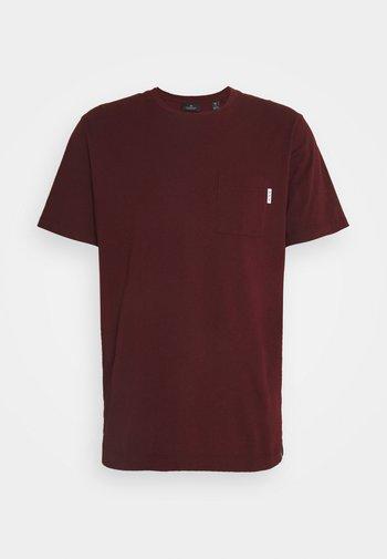 POCKET TEE - Basic T-shirt - nomade red